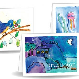 12-pack All-Purpose Kid's Art Greeting Cards
