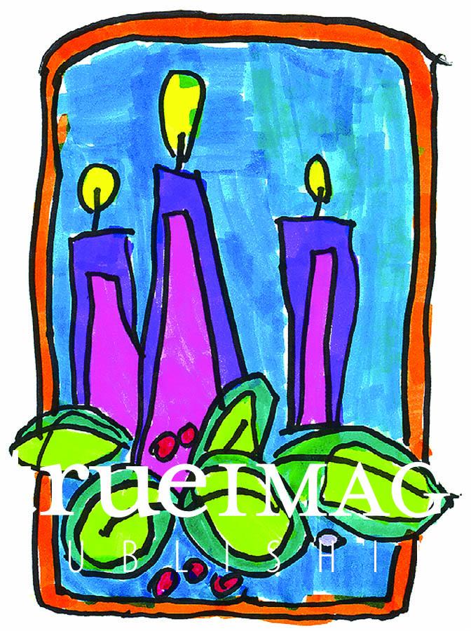 DELIGHTFUL ART BY KIDS WALL CALENDAR