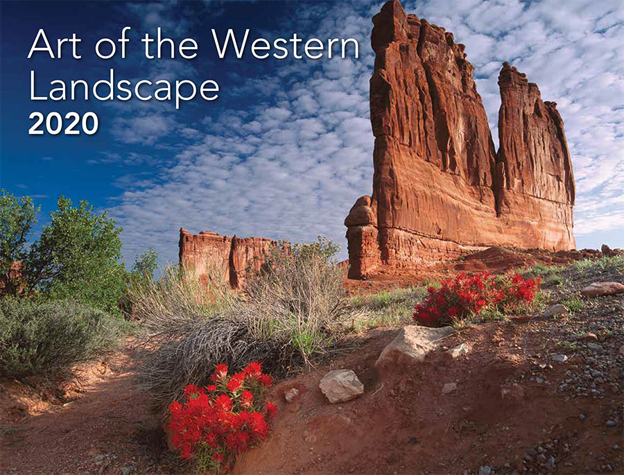 THE ART OF THE WESTERN LANDSCAPE WALL CALENDAR