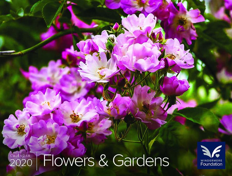 Saxon Holt's FLOWERS & GARDENS WALL CALENDAR